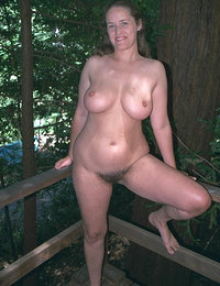 bushy and chesty amateur ladies