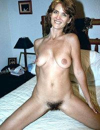 bushy and chesty amateur ladies